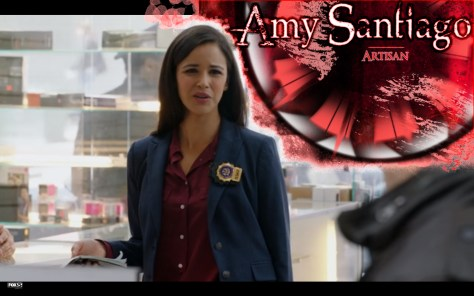 Amy Santiago, Brooklyn Nine-Nine, Brooklyn 99, FOX Broadcasting, NBCUniversal TV, Melissa Fumero