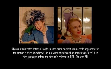 Hedda Hopper, Feud, Feud: Bette and Joan, FX Networks, 20th Century FOX TV, Judy Davis
