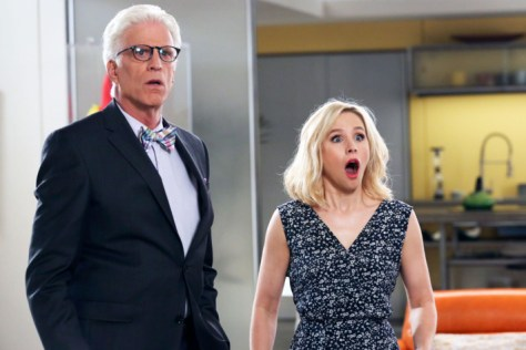 The Good Place, NBC Network, NBCUniversal TV, Fremulon, 3 Arts Entertainment, Kristen Bell, Ted Danson