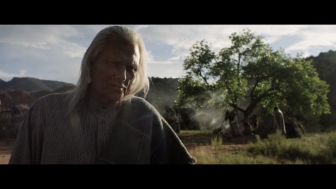Chief Narrienta, Godless, Netflix, Casey Silver Productions, 765, Flitcraft Ltd., Michael Horse
