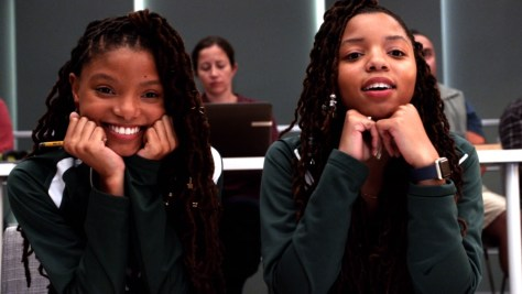 Jazlyn and Skylar Forster, Grown-ish, Freeform, Disney–ABC Domestic Television, ABC Signature Studios, Khalabo Ink Society, Cinema Gypsy Productions, Principato-Young Entertainment, Halle Bailey, Chloe Bailey
