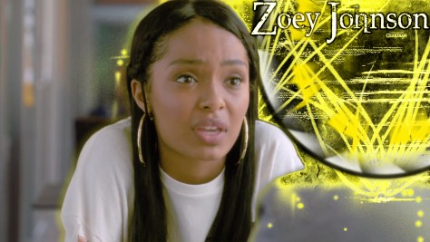 Zoey Johnson, Grown-ish, Freeform, Disney–ABC Domestic Television, ABC Signature Studios, Khalabo Ink Society, Cinema Gypsy Productions, Principato-Young Entertainment, Yara Shahidi