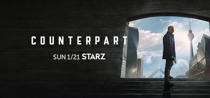 Counterpart, Starz, Anonymous Content, Gate 34, Media Rights Capital