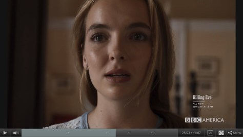 Villanelle, Killing Eve, BBC America, IMG, Sid Gentle Films, Jodie Comer