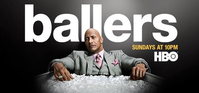 Ballers, HBO, Home Box Office Inc., HBO Entertainment, Warner Bros. Television Distribution, Film 44, Seven Bucks Entertainment, Leverage Entertainment, Closest to the Hole Productions
