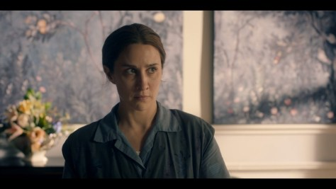 Kirsten Lindstrom, Ordeal By Innocence, BBC One, Amazon Prime Video, Mammoth Screen, Agatha Christie Limited, Morven Christie