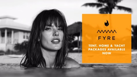 Alessandra Ambrosio, Fyre: The Greatest Party That Never Happened, Netflix, Jerry Media, Library Films, Vice Studios
