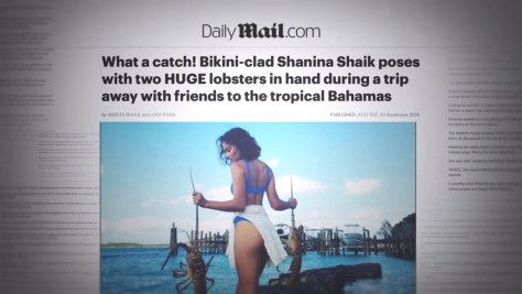 Shanina Shaik, Fyre: The Greatest Party That Never Happened, Netflix, Jerry Media, Library Films, Vice Studios