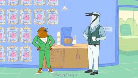 Holland, Tuca & Bertie, Netflix, The Tornante Company, Brave Dummy, Boxer vs Raptor, ShadowMachine, Richard E. Grant