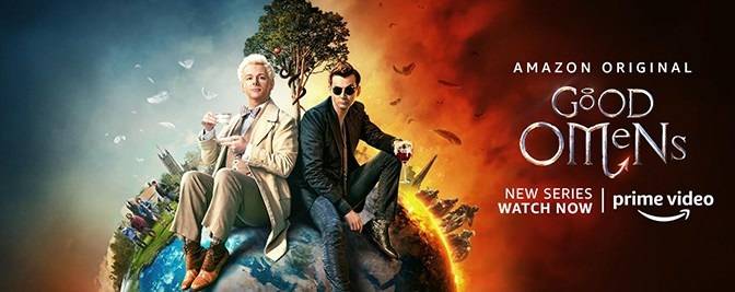 Good Omens, Amazon Prime Video, Amazon Video, BBC Two, Narrativia, The Blank Corporation, Amazon Studios, BBC Studios