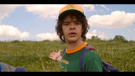 Dustin Henderson, Stranger Things, Netflix, 21 Laps Entertainment, Monkey Massacre, Gaten Matarazzo