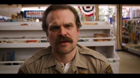 Jim Hopper, Stranger Things, Netflix, 21 Laps Entertainment, Monkey Massacre, David Harbour