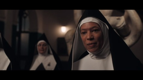 Sister Mary Loqacious, Good Omens, Amazon Prime Video, Amazon Video, BBC Two, Narrativia, The Blank Corporation, Amazon Studios, BBC Studios, Nina Sosanya