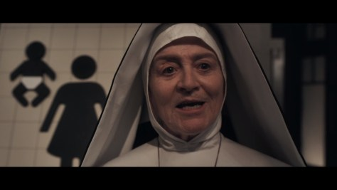Mother Superior, Good Omens, Amazon Prime Video, Amazon Video, BBC Two, Narrativia, The Blank Corporation, Amazon Studios, BBC Studios, Susan Brown
