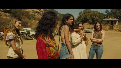 Pussycat, Once Upon A Time In Hollywood, Columbia Pictures, Bona Film Group, Heyday Films, Margaret Qualley