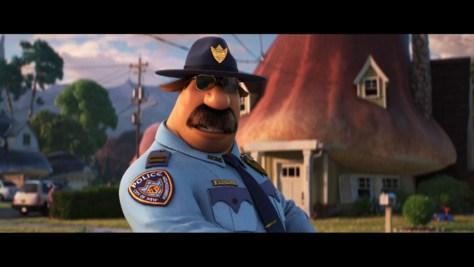 Officer Colt Bronco, Onward, Pixar Animation Studios, Walt Disney Pictures, Disney+, Mel Rodriguez