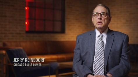 Jerry Reinsdorf, ESPN, ESPN Films, Jump 23, Mandalay Sports Media, NBA Entertainment