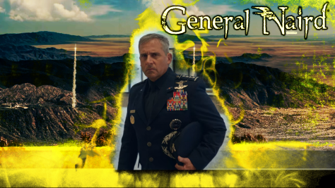 General Naird, Space Force, Netflix, Deedle-Dee Productions, Film Flam, 3 Arts Entertainment