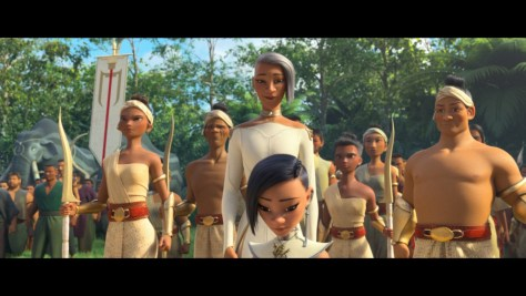 Chief Virana, Raya and the Last Dragon, Disney+, Walt Disney Animation Studios, Walt Disney Pictures, Sandra Oh