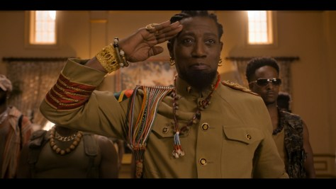 General Izzi, Coming 2 America, Amazon Prime Video, Eddie Murphy Productions, Misher Films, New Republic Pictures, Paramount Pictures, Wesley Snipes