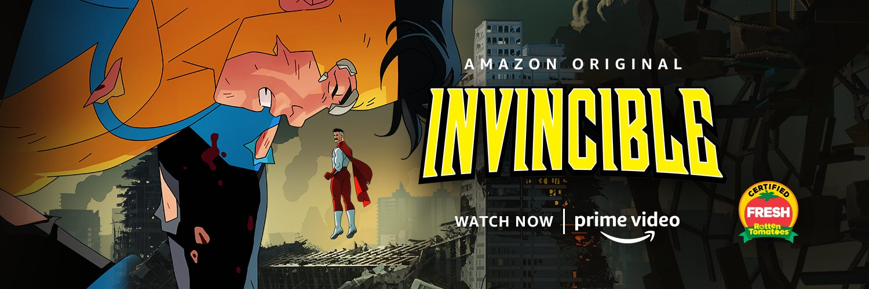 Invincible, Amazon Prime Video, Amazon Studios, Image Comics, Skybound Entertainment