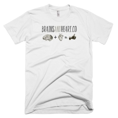 Brains and Heart Logo T-Shirt