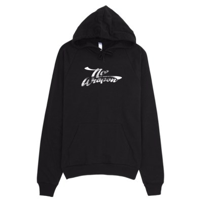 No Weapon Dark Hoodie