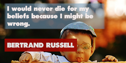 Bertrand Russell inspirational quote
