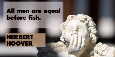 Herbert Hoover inspirational quote