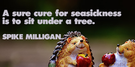 Spike Milligan inspirational quote