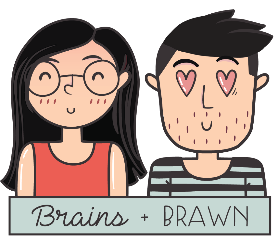 Brains + Brawn - Your blessed travel companions