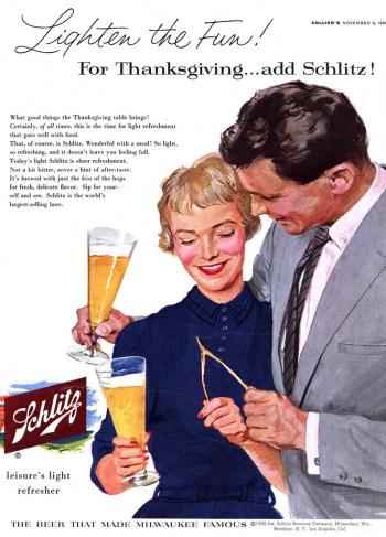 thanksgiving-schlitz-ad