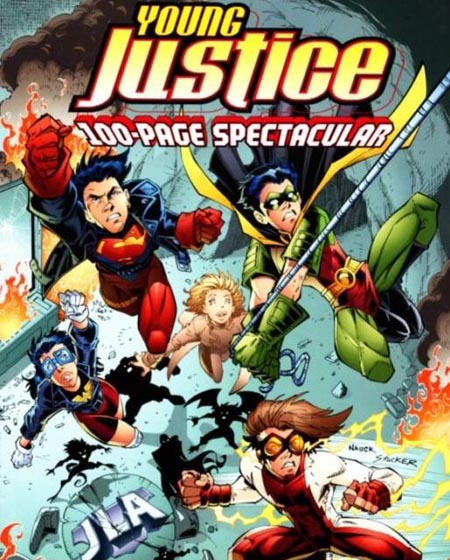 young justice cover peter david
