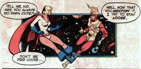 Justice League 184 Firestorm Power Girl