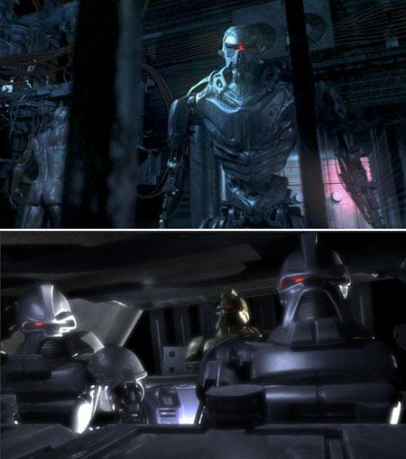 galactica_blood_chrome_cylon_vs_old_cylon