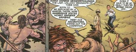 New X-men 114 neandertal