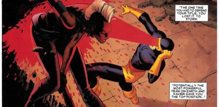 Astonishing X-men 14 storm vs cyclops
