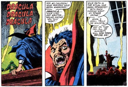 Doctor Strange VS Dracula rebirth