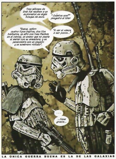 Star Wars La Guerra de las Galaxias David Aja