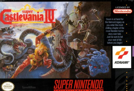supernintendo castlevania 4