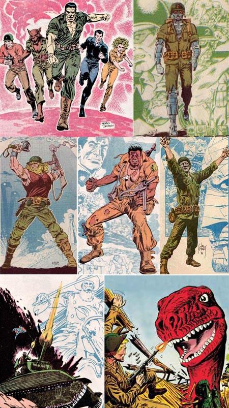 dc-comics-crazy-war-comics-haunted-tank-gravedigger-girobot-viking-comand-creature-commandos-unknow-soldier-war-time-forgot