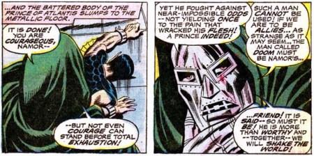 Doctor Muerte Doctor Doom Namor allies