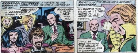 Giant-Size X-men reclutando a banshee