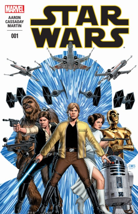 Marvel Star Wars Aaron Cassaday