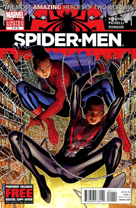 spidermen-marvel-bendis-peter-parker-miles-morales