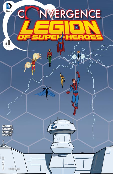 Convergence - Superboy and the Legion of Super-Heroes