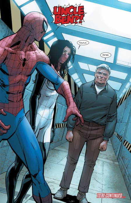 Amazing Spiderman 12 Spiderverse Uncle Ben