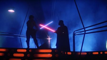 Empire Strikes Back Vader vs Luke