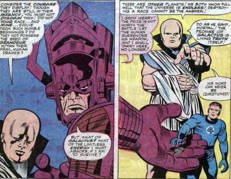 Fantastic Four 50 Galactus Watcher Vigilante Reed Richards Supreme Nullifier Nulificador Supremo