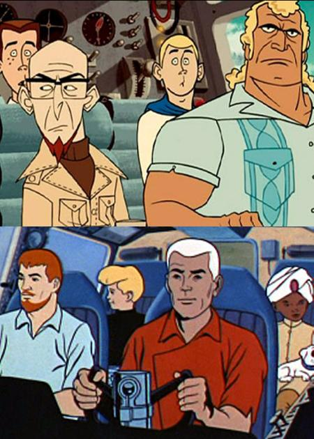 venture bros johnny quest